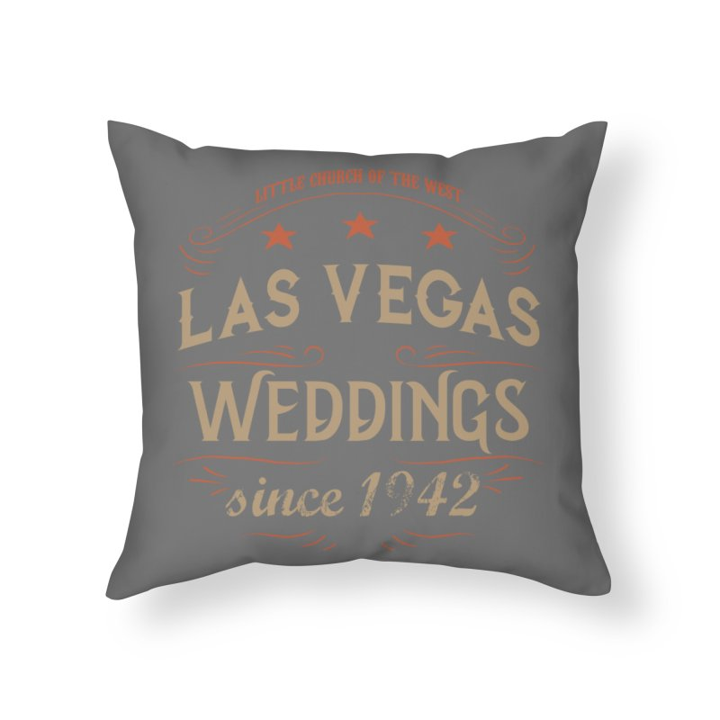 Retro 1942 Home Throw Pillow by Little Church of the West's Artist Shop