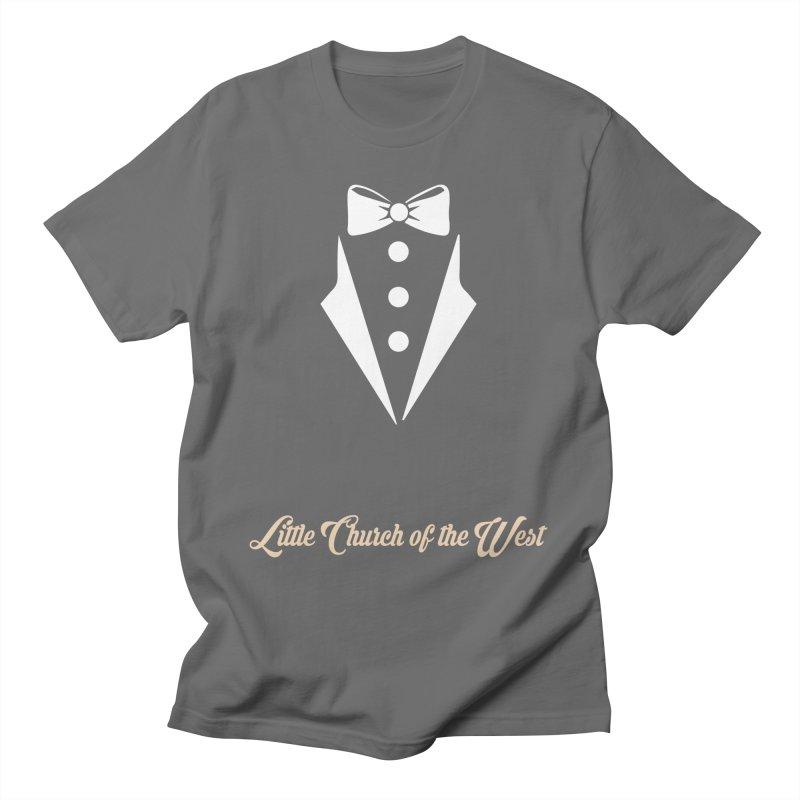 Tuxedo T Men's T-Shirt by Little Church of the West's Artist Shop