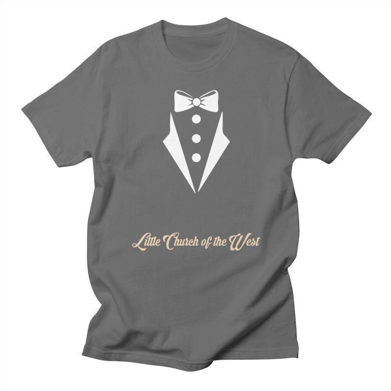 Tuxedo T Men's T-Shirt by Little Church of the West's Artist Shop