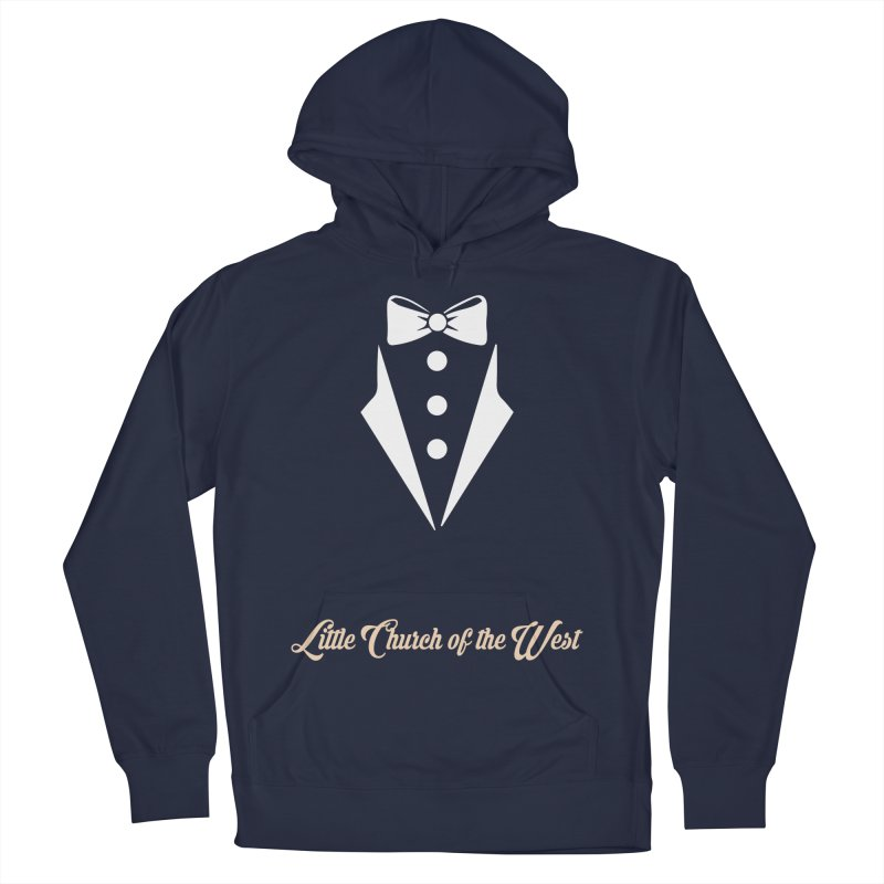 Tuxedo T Men's Pullover Hoody by Little Church of the West's Artist Shop
