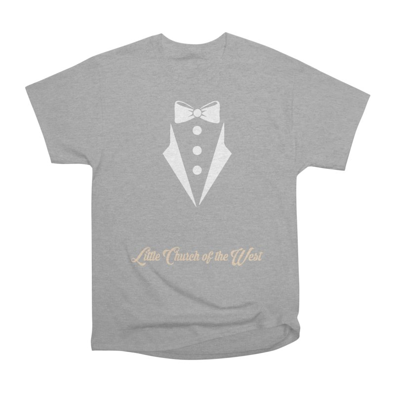 Tuxedo T Women's Heavyweight Unisex T-Shirt by Little Church of the West's Artist Shop