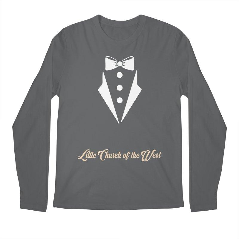 Tuxedo T Men's Longsleeve T-Shirt by Little Church of the West's Artist Shop