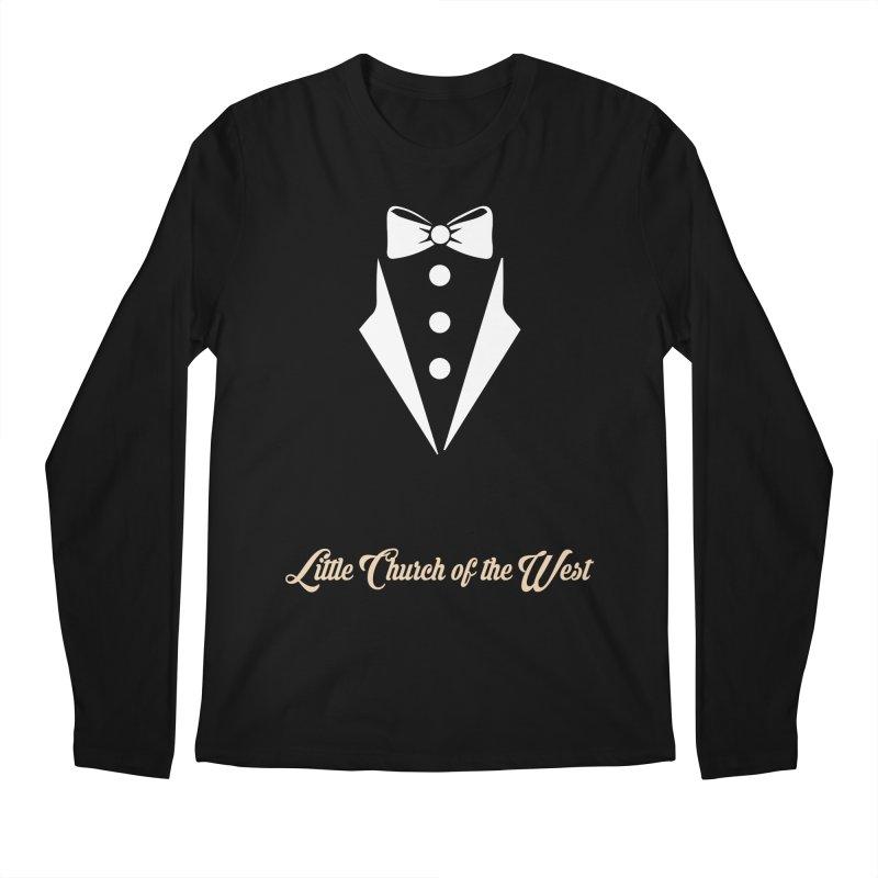 Tuxedo T Men's Regular Longsleeve T-Shirt by Little Church of the West's Artist Shop