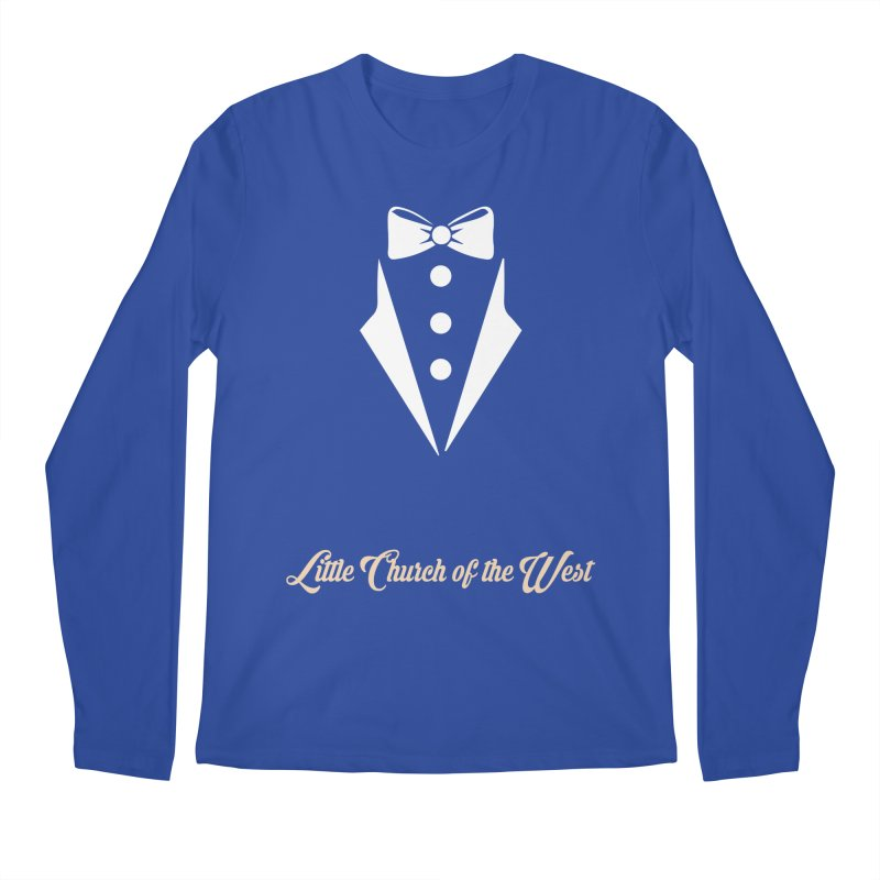 Tuxedo T Men's Regular Longsleeve T-Shirt by Little Church of the West's Artist Shop
