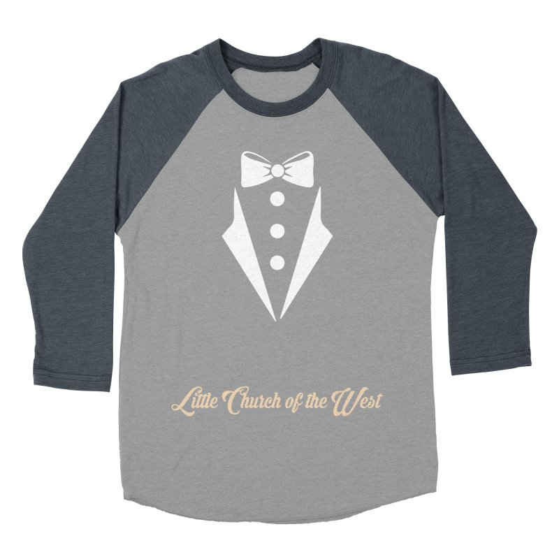 Tuxedo T Women's Baseball Triblend Longsleeve T-Shirt by Little Church of the West's Artist Shop