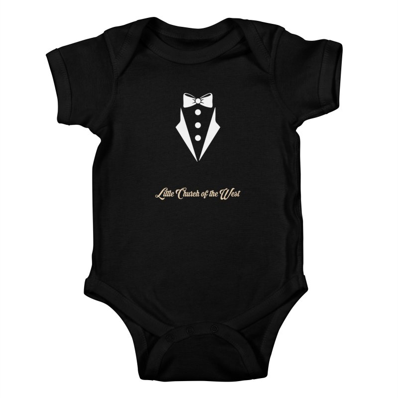 Tuxedo T Kids Baby Bodysuit by Little Church of the West's Artist Shop