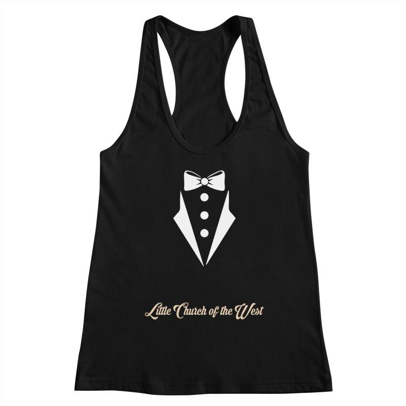 Tuxedo T Women's Tank by Little Church of the West's Artist Shop