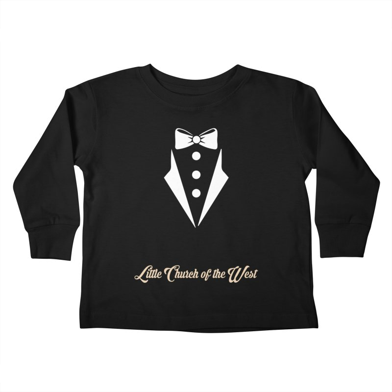 Tuxedo T Kids Toddler Longsleeve T-Shirt by Little Church of the West's Artist Shop