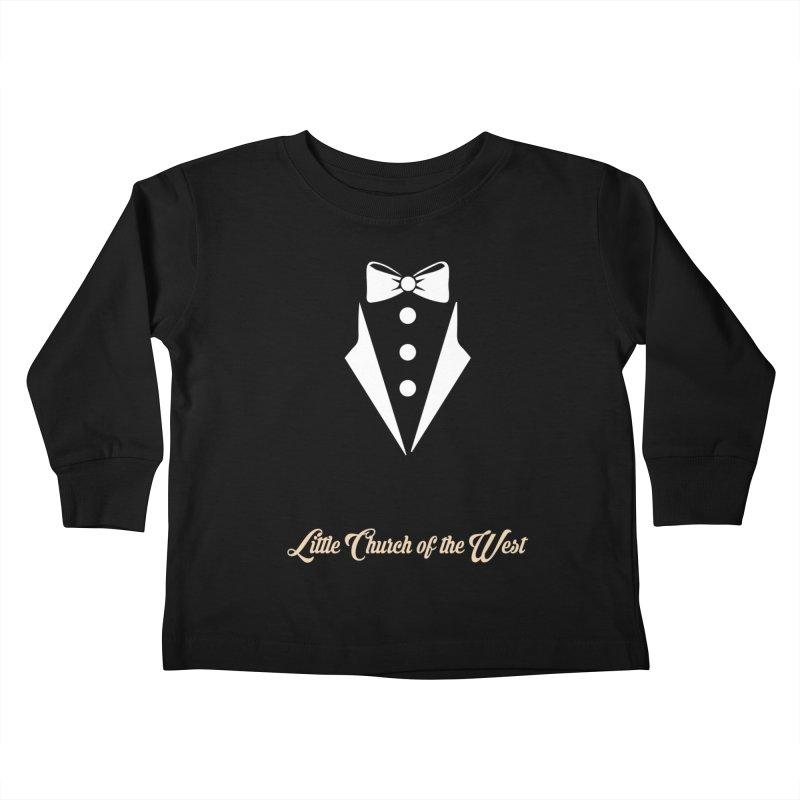 Tuxedo T Kids Toddler Longsleeve T-Shirt by Little Church of the West's Artist Shop