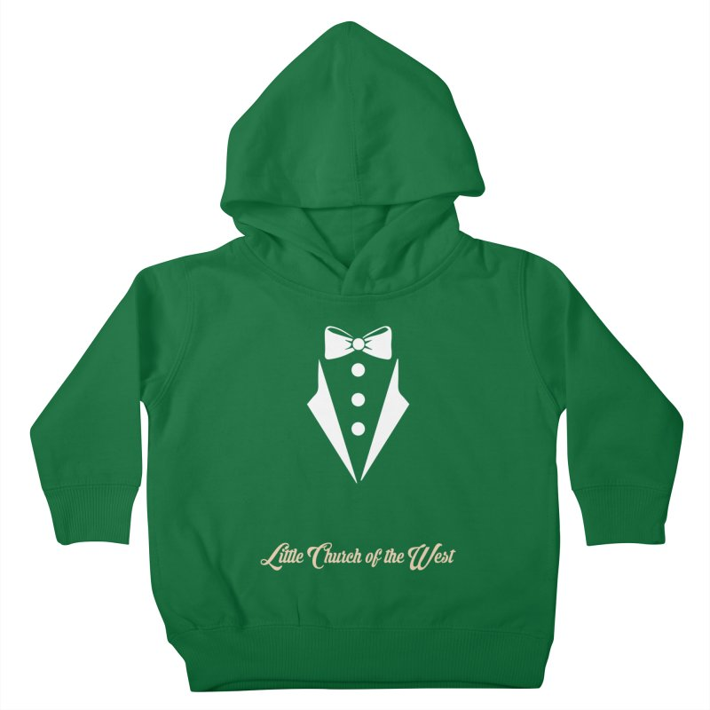 Tuxedo T Kids Toddler Pullover Hoody by Little Church of the West's Artist Shop
