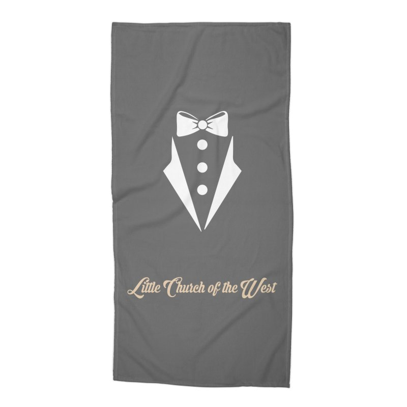 Tuxedo T Accessories Beach Towel by Little Church of the West's Artist Shop