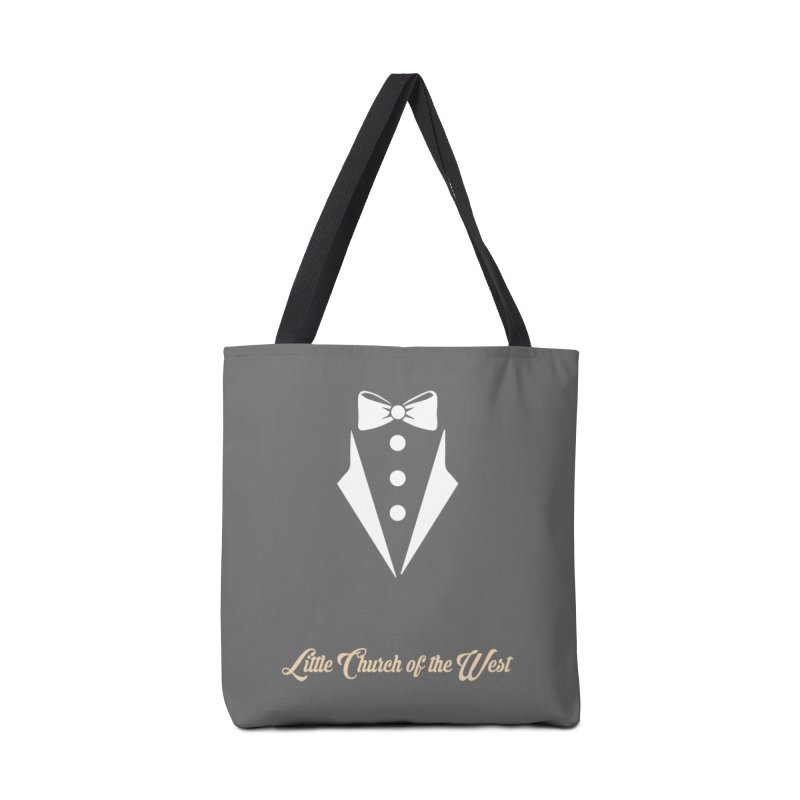 Tuxedo T Accessories Tote Bag Bag by Little Church of the West's Artist Shop