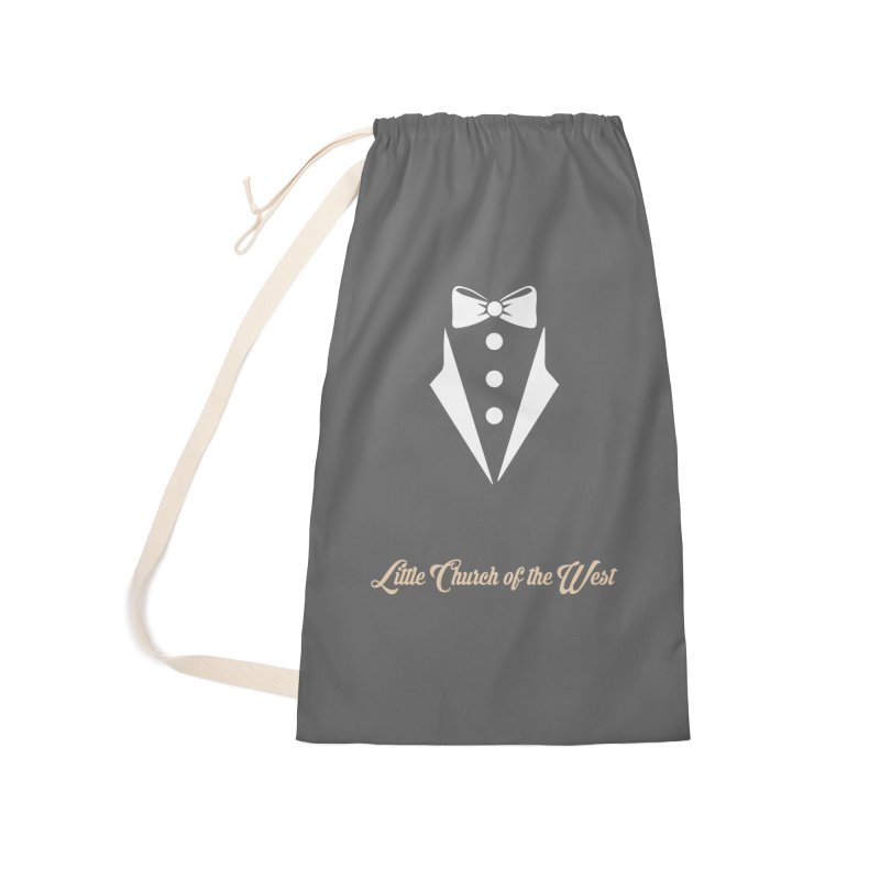 Tuxedo T Accessories Laundry Bag Bag by Little Church of the West's Artist Shop