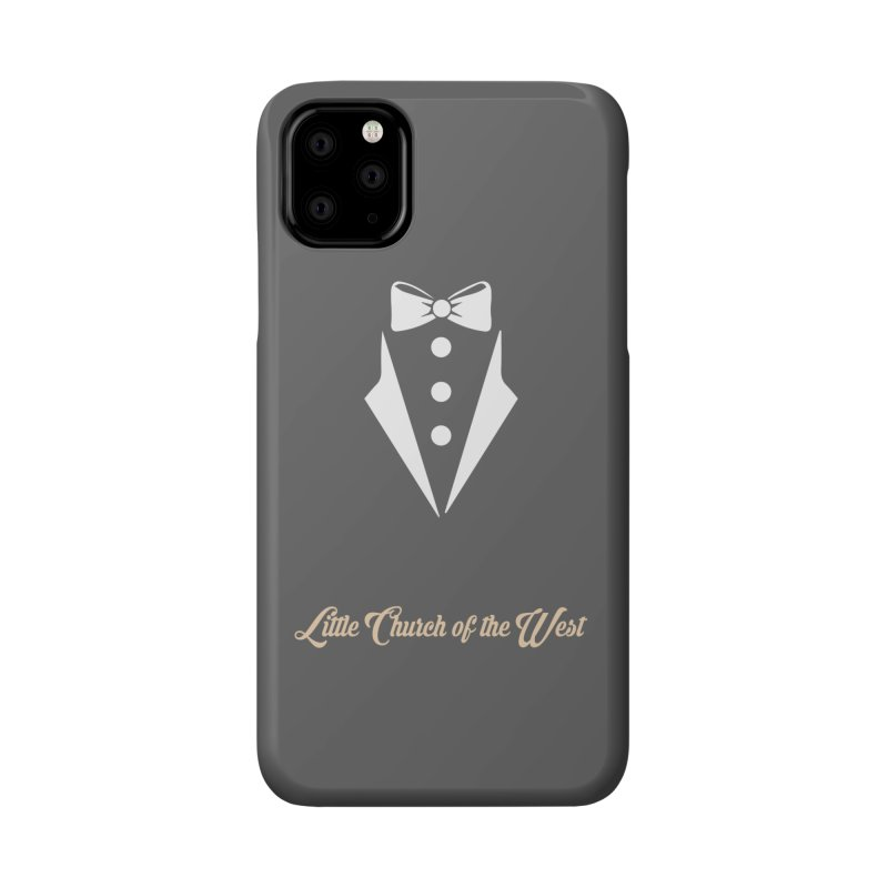 Tuxedo T Accessories Phone Case by Little Church of the West's Artist Shop