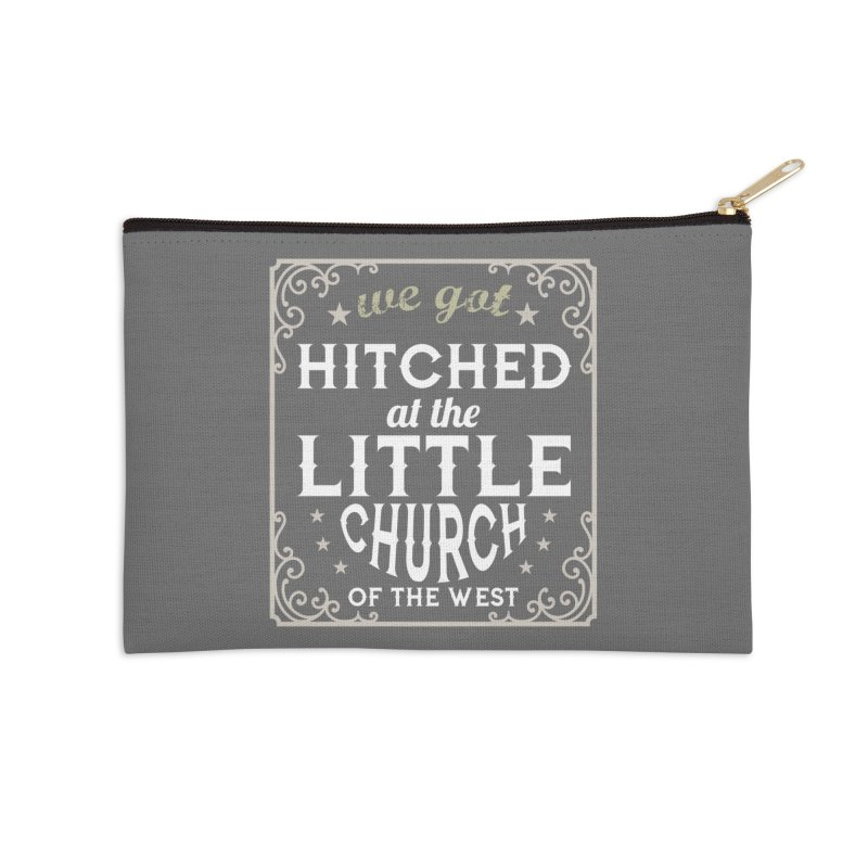 Hitched at the Little Church of the West Accessories Zip Pouch by Little Church of the West's Artist Shop