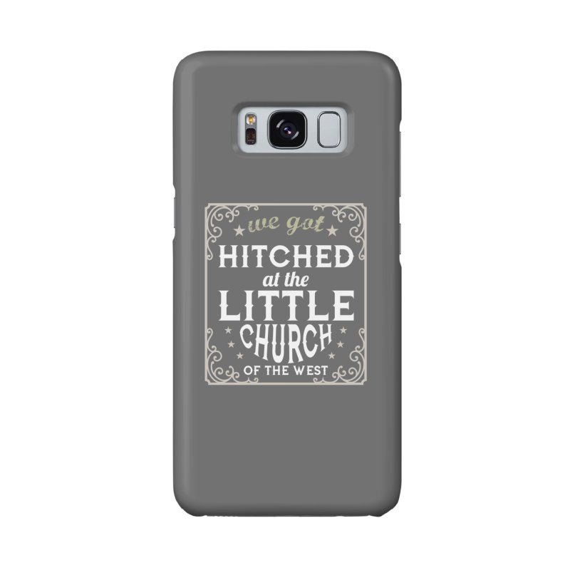 Hitched at the Little Church of the West Accessories Phone Case by Little Church of the West's Artist Shop