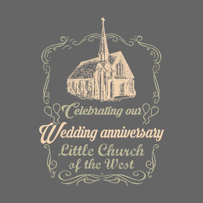 Anniversary Celebration Men's T-Shirt by Little Church of the West's Artist Shop