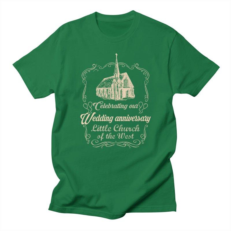 Anniversary Celebration Men's T-Shirt by Little Church of the West's Artist Shop