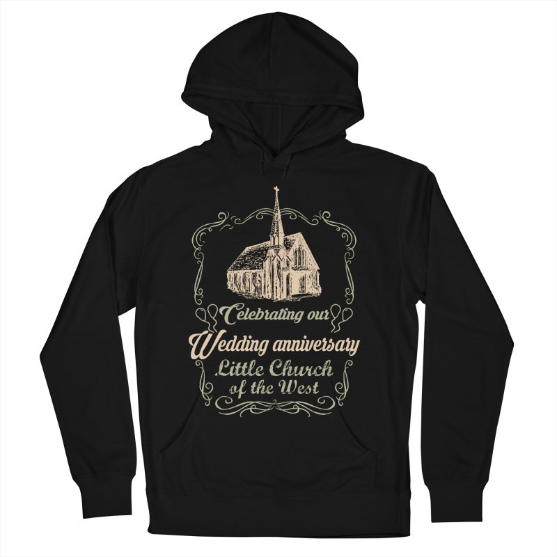Anniversary Celebration Men's French Terry Pullover Hoody by Little Church of the West's Artist Shop
