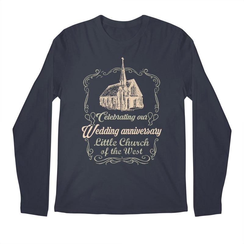 Anniversary Celebration Men's Longsleeve T-Shirt by Little Church of the West's Artist Shop