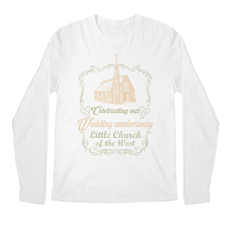 Anniversary Celebration Men's Regular Longsleeve T-Shirt by Little Church of the West's Artist Shop