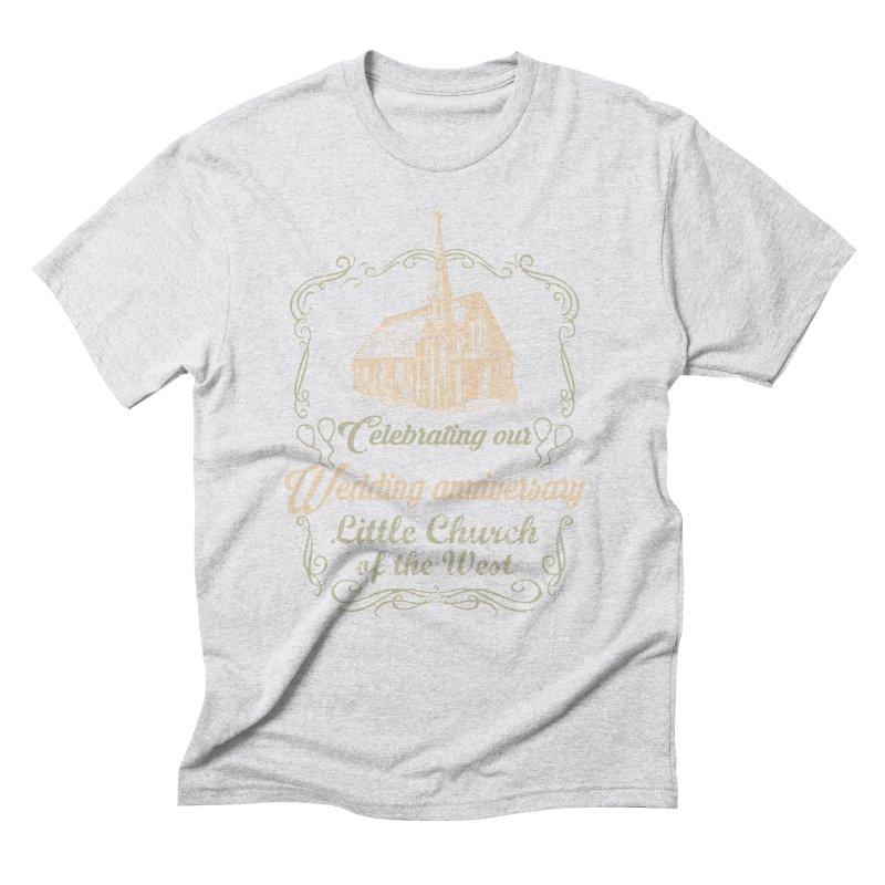 Anniversary Celebration Men's Triblend T-Shirt by Little Church of the West's Artist Shop
