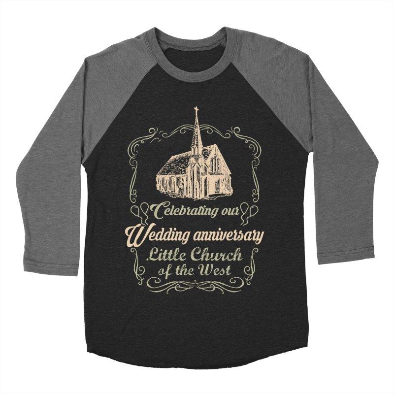 Anniversary Celebration Men's Baseball Triblend Longsleeve T-Shirt by Little Church of the West's Artist Shop