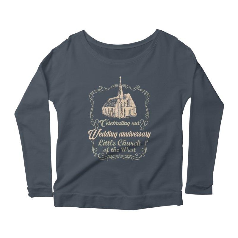 Anniversary Celebration Women's Scoop Neck Longsleeve T-Shirt by Little Church of the West's Artist Shop