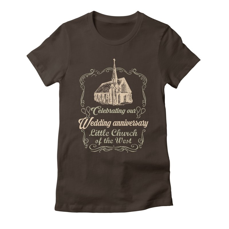 Anniversary Celebration Women's Fitted T-Shirt by Little Church of the West's Artist Shop
