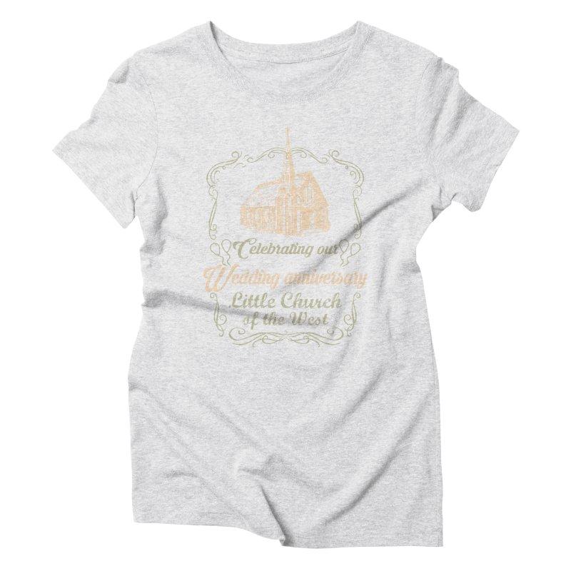 Anniversary Celebration Women's T-Shirt by Little Church of the West's Artist Shop