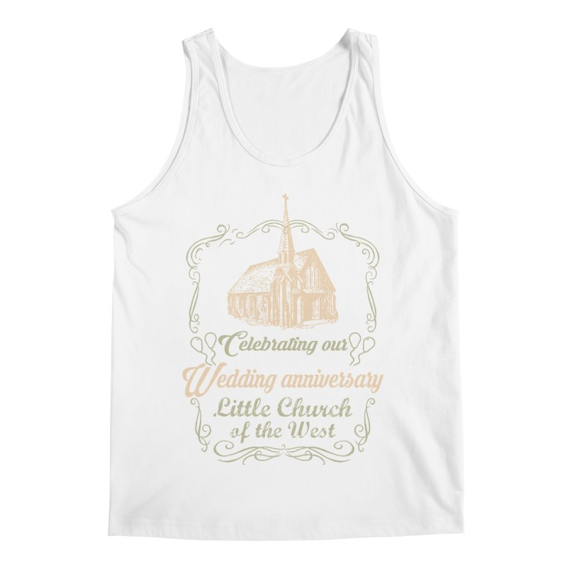 Anniversary Celebration Men's Regular Tank by Little Church of the West's Artist Shop