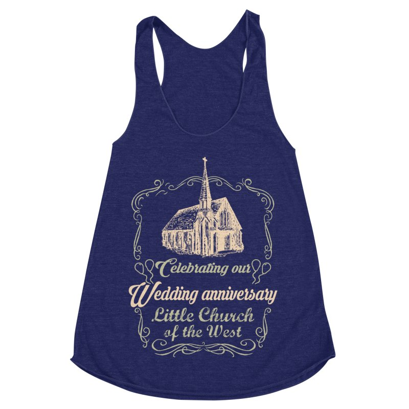 Anniversary Celebration Women's Tank by Little Church of the West's Artist Shop