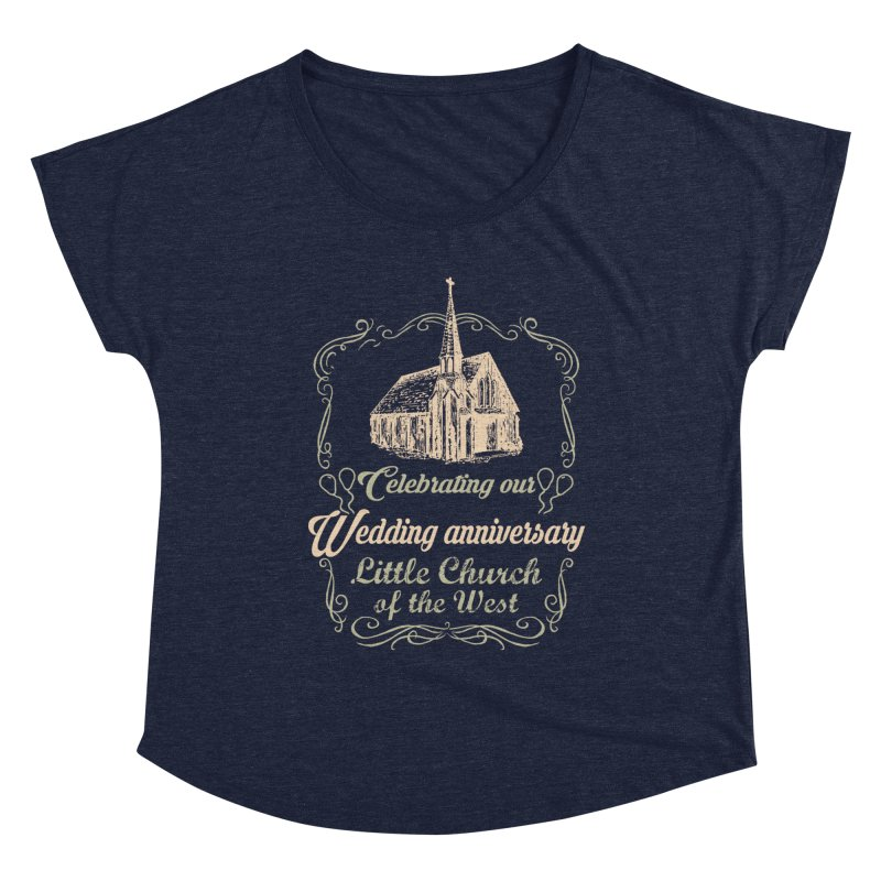 Anniversary Celebration Women's Scoop Neck by Little Church of the West's Artist Shop