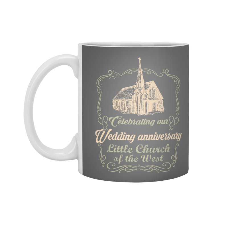 Anniversary Celebration Accessories Standard Mug by Little Church of the West's Artist Shop