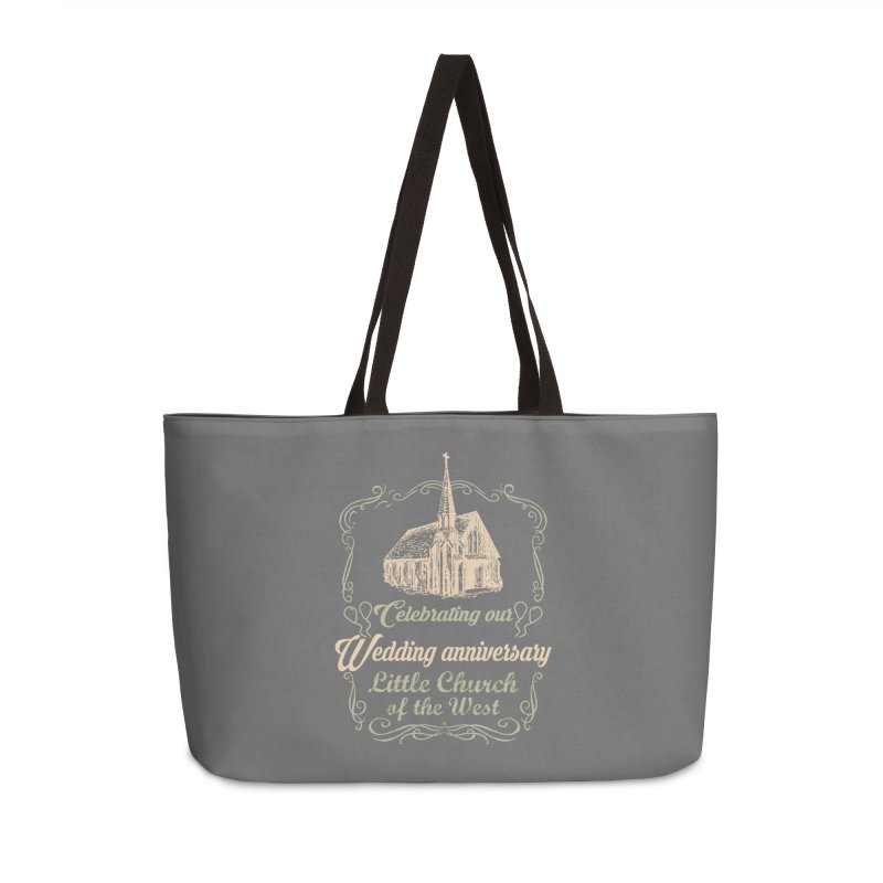 Anniversary Celebration Accessories Weekender Bag Bag by Little Church of the West's Artist Shop