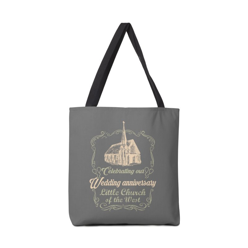 Anniversary Celebration Accessories Tote Bag Bag by Little Church of the West's Artist Shop