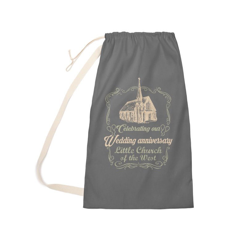 Anniversary Celebration Accessories Laundry Bag Bag by Little Church of the West's Artist Shop