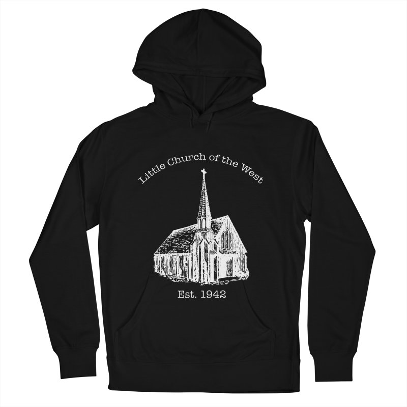 Chapel Men's French Terry Pullover Hoody by Little Church of the West's Artist Shop
