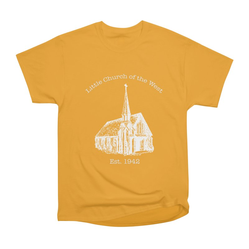 Chapel Men's Heavyweight T-Shirt by Little Church of the West's Artist Shop