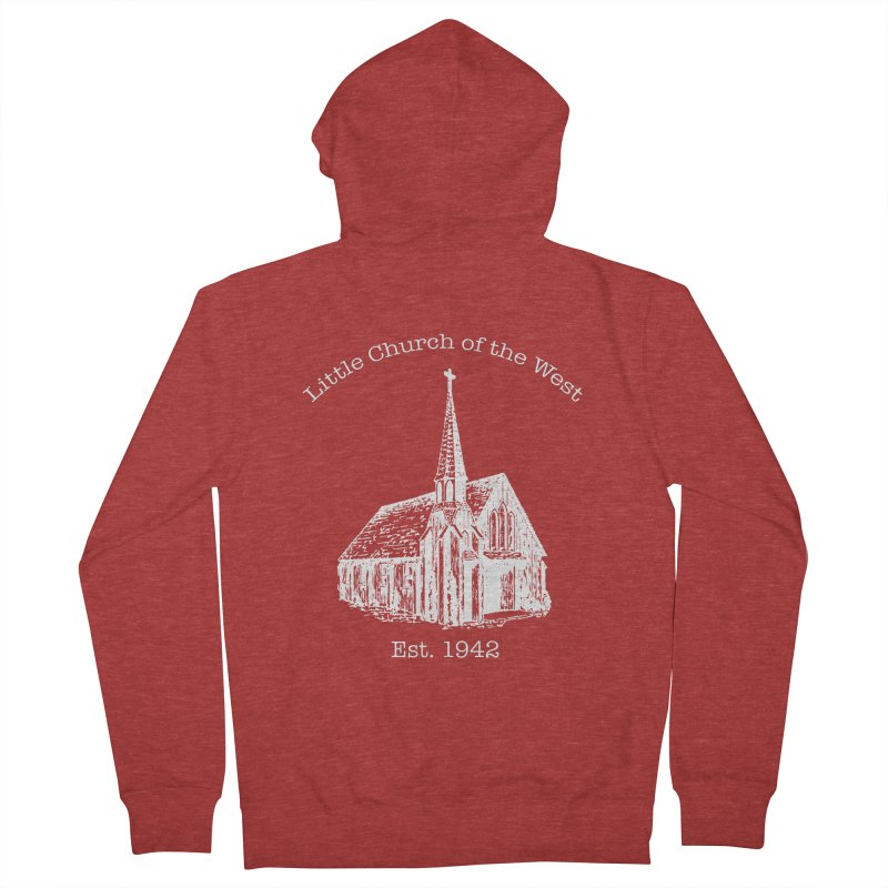 Chapel Women's French Terry Zip-Up Hoody by Little Church of the West's Artist Shop