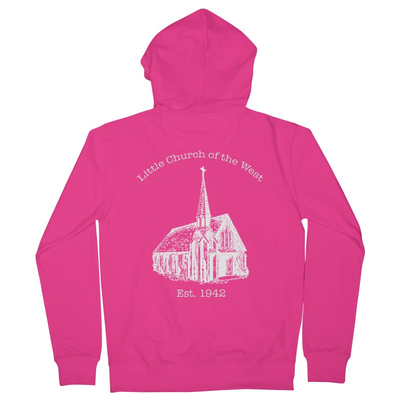 Chapel Men's French Terry Zip-Up Hoody by Little Church of the West's Artist Shop