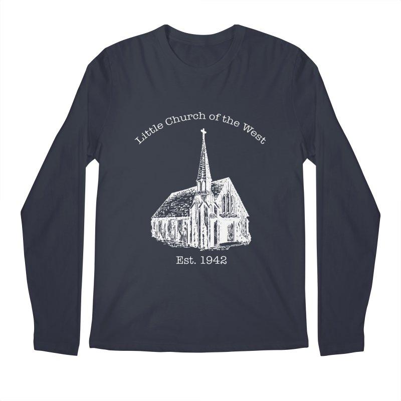 Chapel Men's Regular Longsleeve T-Shirt by Little Church of the West's Artist Shop