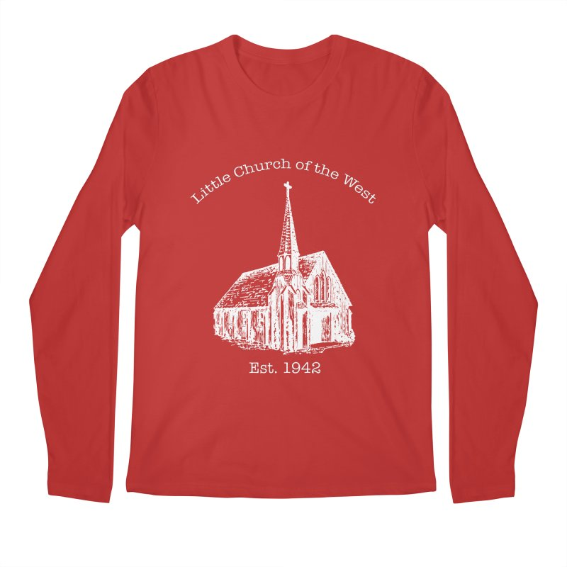 Chapel Men's Regular Longsleeve T-Shirt by Little Church of the West's Artist Shop