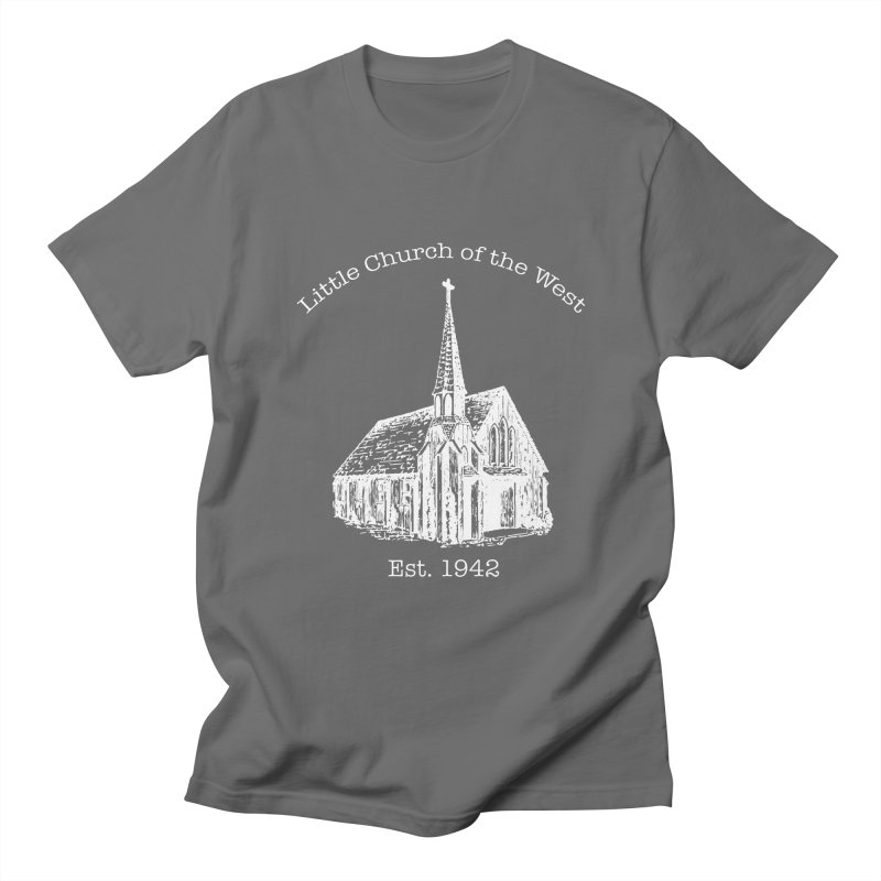 Chapel Men's T-Shirt by Little Church of the West's Artist Shop