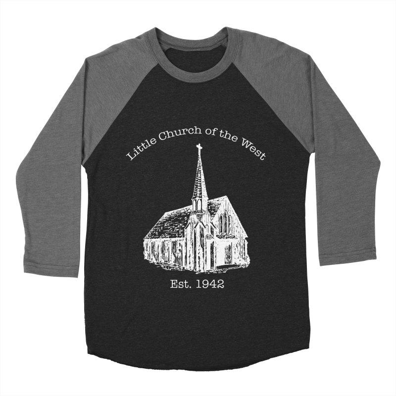 Chapel Women's Baseball Triblend Longsleeve T-Shirt by Little Church of the West's Artist Shop