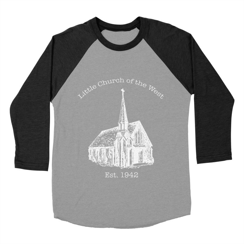 Chapel Women's Baseball Triblend Longsleeve T-Shirt by Little Church of the West's Artist Shop