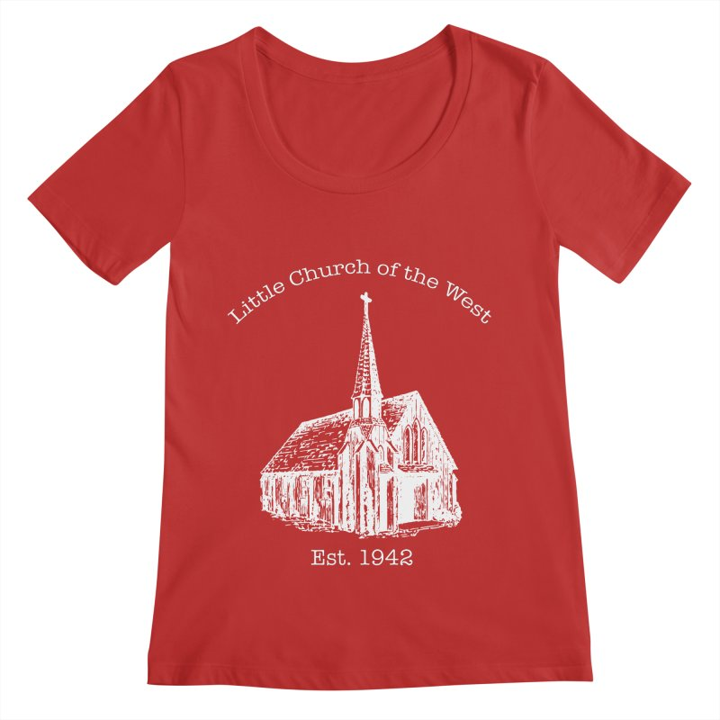 Chapel Women's Regular Scoop Neck by Little Church of the West's Artist Shop