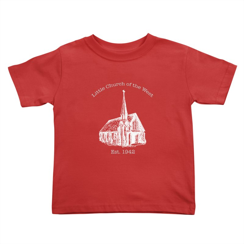 Chapel Kids Toddler T-Shirt by Little Church of the West's Artist Shop