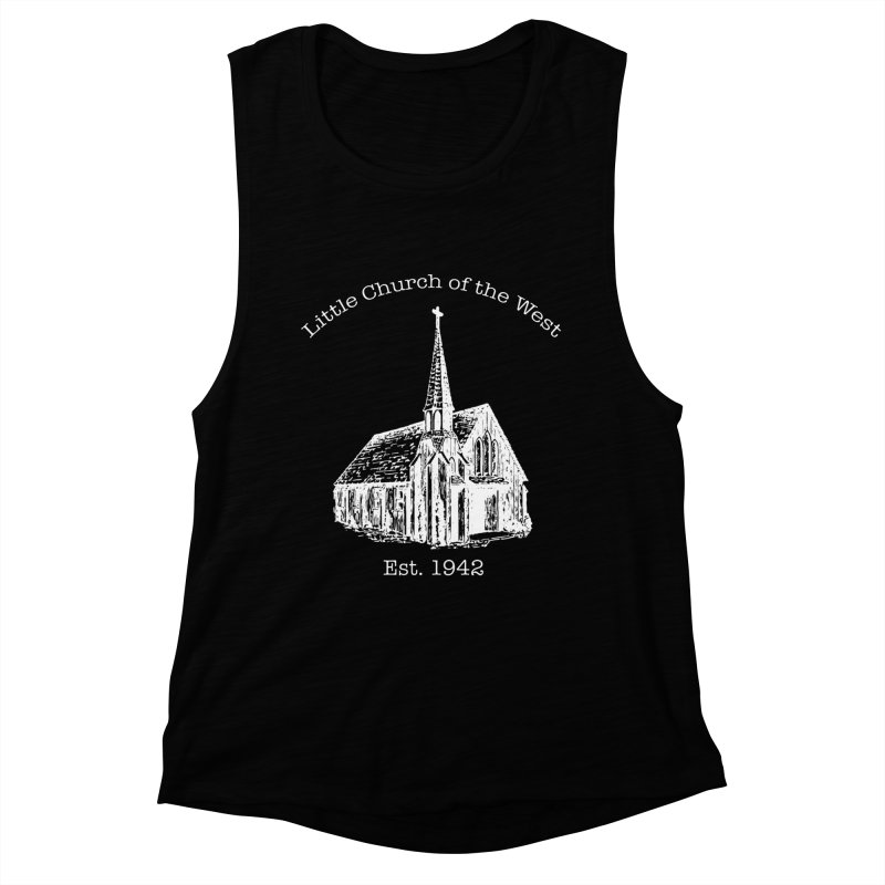 Chapel Women's Muscle Tank by Little Church of the West's Artist Shop