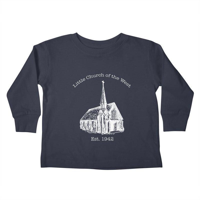 Chapel Kids Toddler Longsleeve T-Shirt by Little Church of the West's Artist Shop